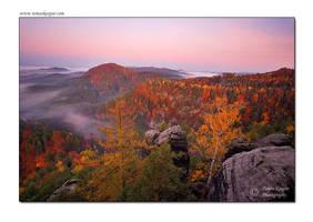 Autumn morning by tomaskaspar