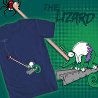 Welovefine: Lizard Licked by AstroZerk