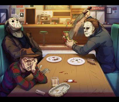 Silent Diner by AstroZerk