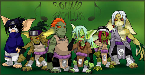 Sound Gremlins by AstroZerk