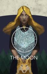 Discworld Major Arcana - The moon by CrocInCrocs