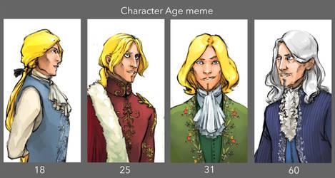 Age meme by CrocInCrocs