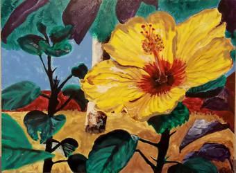 Hibiscus by BirdofHearts