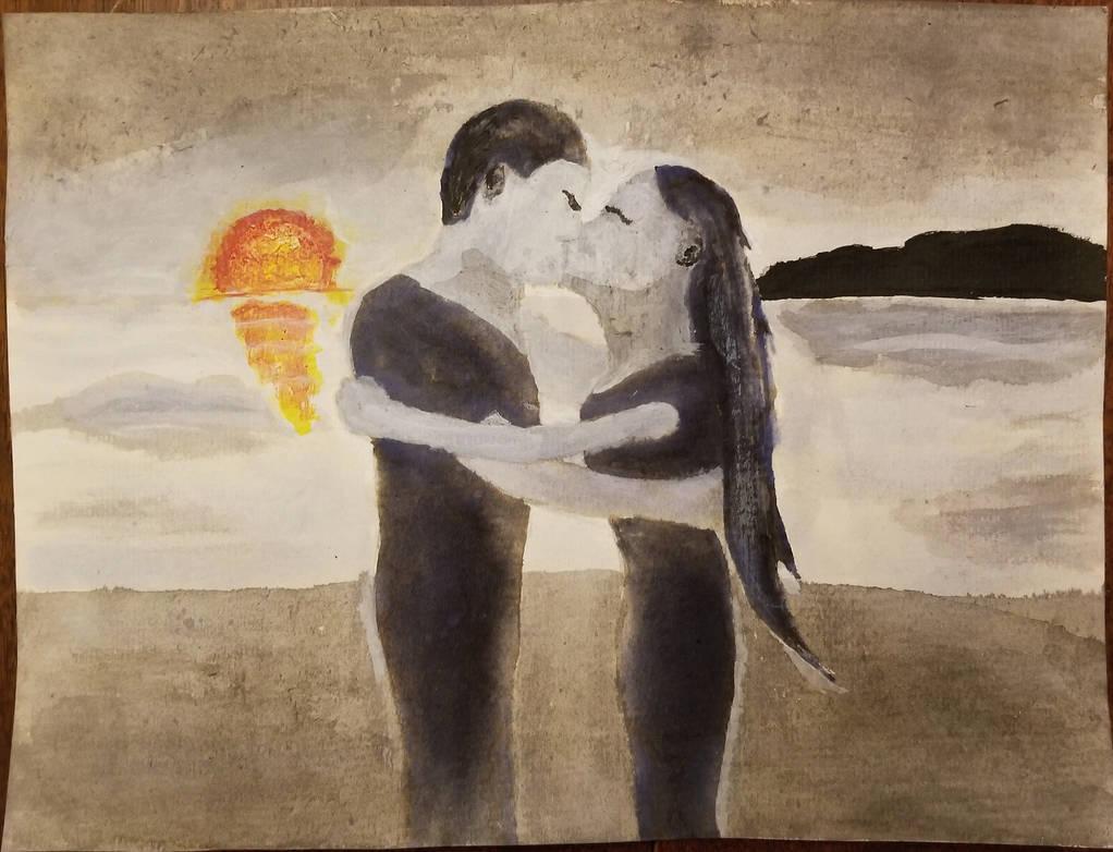 Inktober 1: Love by BirdofHearts