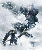 Battle of ice and snow. by Fixan93