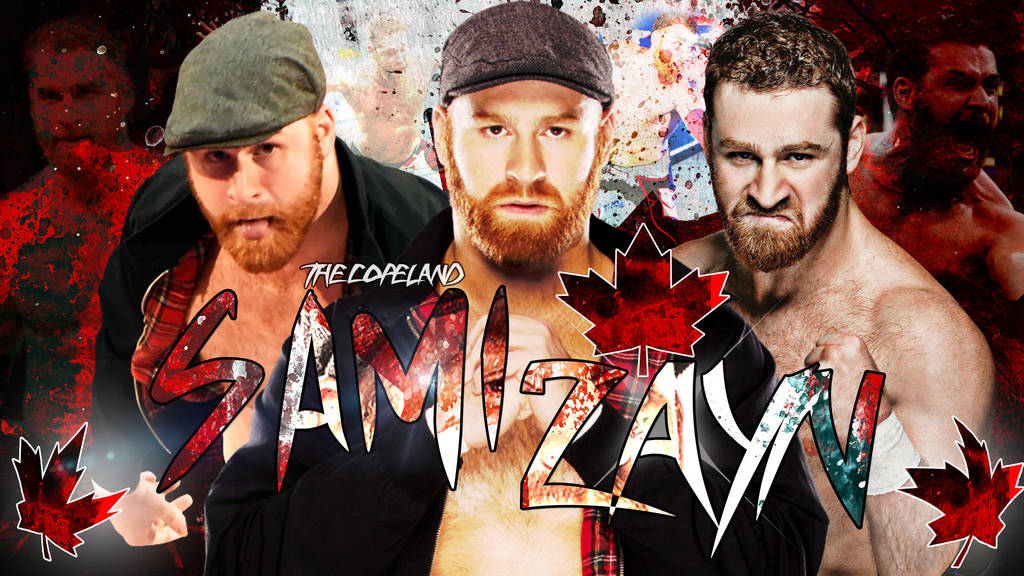 Sami Zayn Wallpaper Hd By Thecopeland On Deviantart