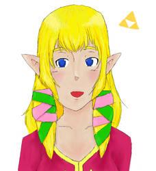 Zelda -non faded- by FluffyShwin