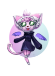 Chibi Commission-Bebyplecky by IDKY-HannahFu