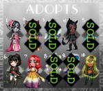 Adopts Batch (1000 points)(OPEN)(READ DESCRIPTION) by IDKY-HannahFu