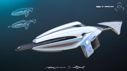 Marlin-D2 Assault Rifle by JackThe-Blade