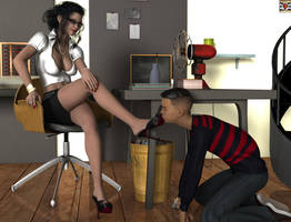 SLAVE EDUCATION - first kiss by kirgen71