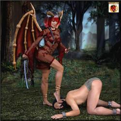 Red demon by kirgen71
