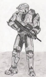 Master Chief by PurpleElite