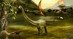 Era De Dinosaurios by NUBES112