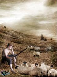 cuidador de ovejas by NUBES112