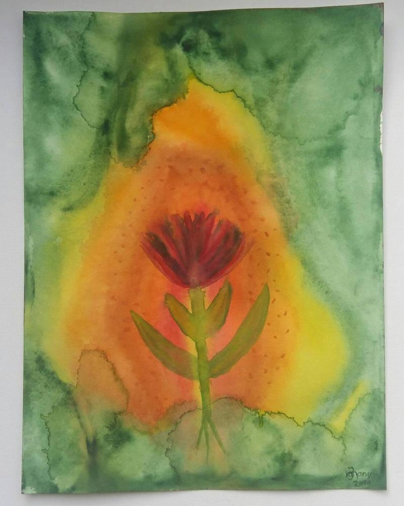 Forbidden flower  by Jacqiesart