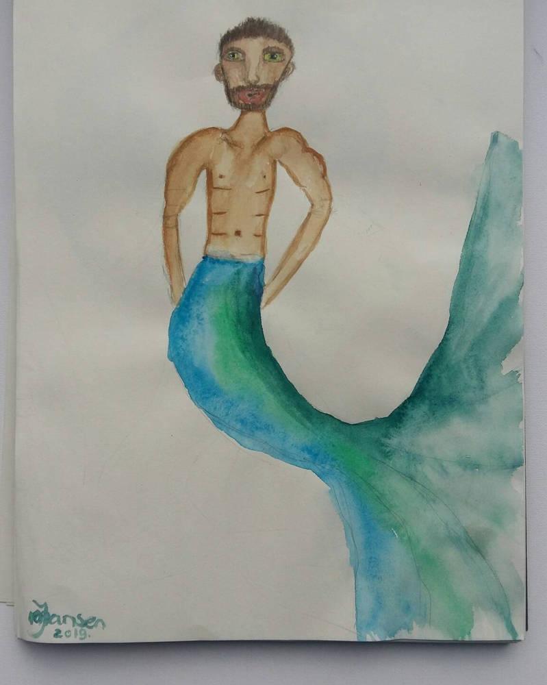 Merman by Jacqiesart