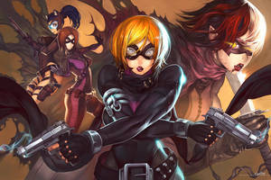 Teen Phalanx Gunner Girls by Elsevilla by Joybuzzer