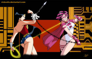 Brand X vs Wonder Woman by Rick Celis by Joybuzzer