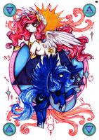 Astro Princesses by MadBlackie