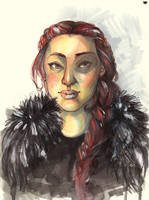 Queen in the North by MadBlackie