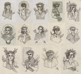 Sketch 31/07 by MadBlackie