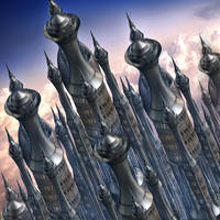 Version one: silver tower by ShaiHulud9