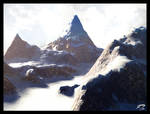 mental ray Snowy Mountains by Majoh