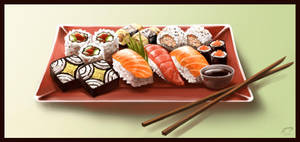 Sushi by Majoh