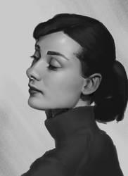 Portrait Study 7 by Exidelo