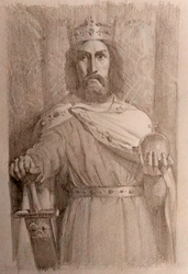 Charlemagne Painting Study by Exidelo
