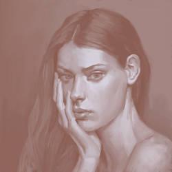 Portrait Study 8 by Exidelo