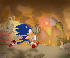 Sonic Forces by Karneolienne