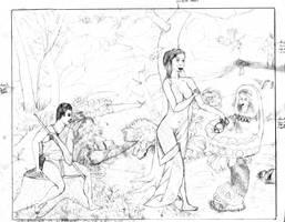 Shepherd+Maiden by DungeonWarden