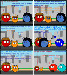 Dan Comics No.21 - Happy Birthday simpleCOMICS! by The-Happy-Spaceman