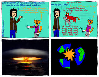 Dan Comics No.25 - The End of the World by The-Happy-Spaceman