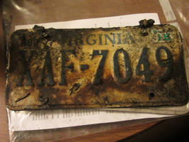 The license plate of my last car by The-Happy-Spaceman
