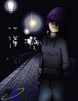 Midnight Walk by The-Happy-Spaceman