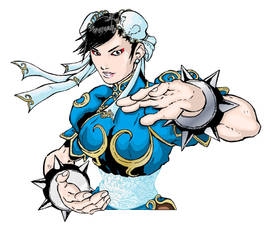 Chun-Li by ShaneLongshadow