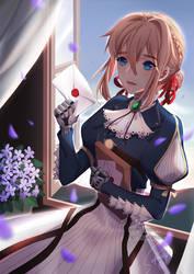 Violet Evergarden - Love Letter by Saphirya