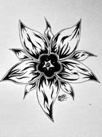 Flower Tattoo by Kill-Me-Heal-Me
