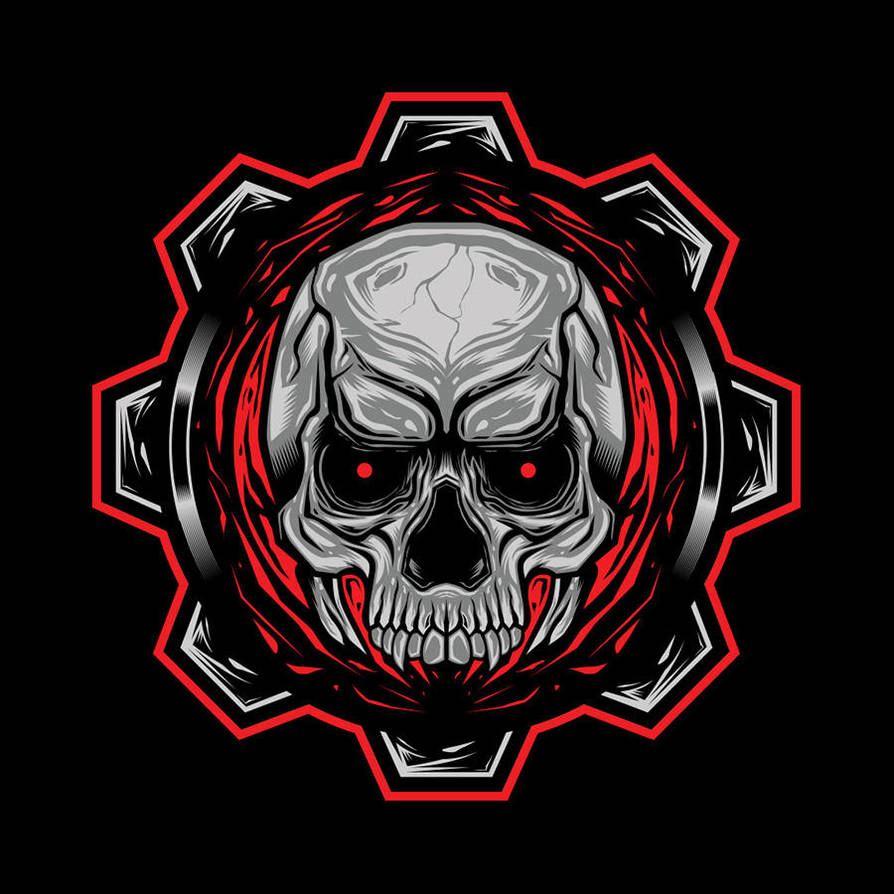 skull9 by poisonvectors