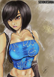Yuffie (redone) by Scionjeshua