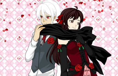 Nyo atlantis x serenia Happy Valentine by deathhio