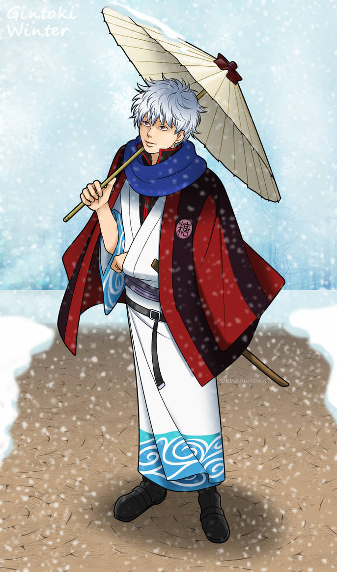 Winter Gintoki by Xhaowrong