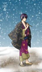 Winter Takasugi by Xhaowrong