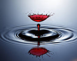 Falling in Red by Drippy2009