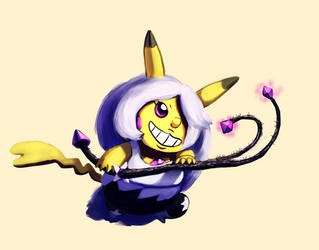 111118 PikachuAmethyst request by Hot-dog-cat