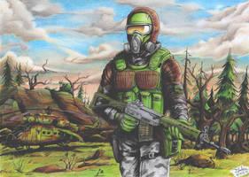 Stalker - Monolith patrol by Tadeu-Costa