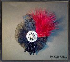 'Royal' brooch by CtrlMissAnn
